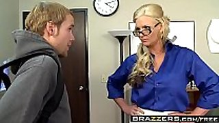Brazzers - large milk sacks at school - i educate how to...