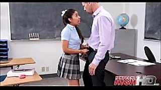 High school white floozy jasmine summers caught masturb...
