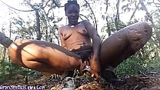 Wild white white babes wooded outdoors squirting masturbation
