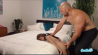 Jmac receives blow job anal and doggie from real dol...