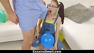 Exxxtrasmall - playful legal age teenager receives taut love tunnel fu...