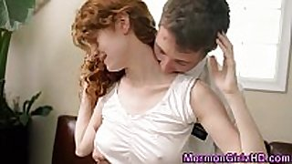 Mormon legal age teenager bent over