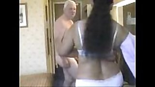Indian woman having sex with aged man-copypas...