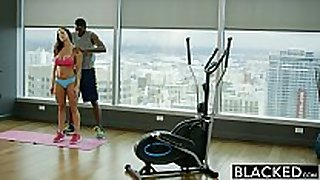 Blacked fitness hottie kendra longing can not live out of biggest bla...