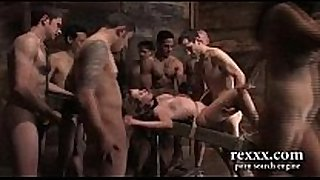 Russian village family group sex
