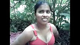 Desi village lewd white bitch drilled by neighbour in forest