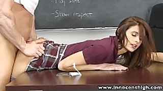 Innocenthigh smalltits schoolgirl legal age teenager rides te...