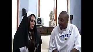 Sheila marie big milk shakes nun bonks a big black dong