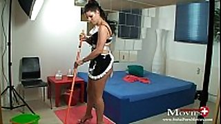 Maid amanda jane fucks hotel guest with jock juice r...