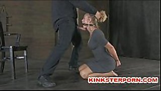Slaves are in a pervert submission - bond, cane...