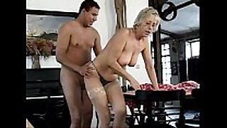 German old mature strumpets - the old cleaning team