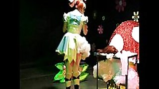 Straight man sissy maid forced crossdressing al...