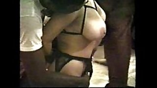Gang group sex gloria blows the stud down