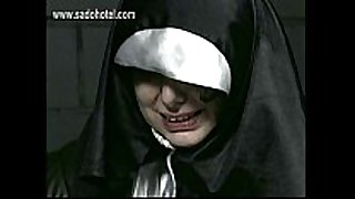 Crying slave nun spanked on her hands and on this chab...