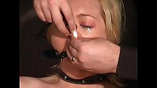 Crying donnas ballgagged humiliation and electr...