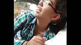 My college girlfriend mere sath delhi car men b...